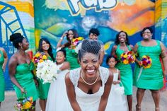 Multicultural Art Museum Wedding in North Carolina by Creative Silence Photo + Design: Joy and Caique - Munaluchi Bridal Magazine