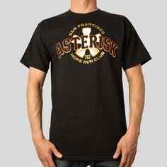 Asterisk T-Shirt in Black