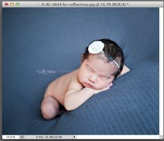 CoffeeShop Baby Miracle Photoshop/PSE Action!