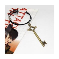 Attack on Titan Shingeki No Kyojin Eren's Key Cosplay Props... (42 ARS) ❤ liked on Polyvore featuring jewelry, necklaces and key