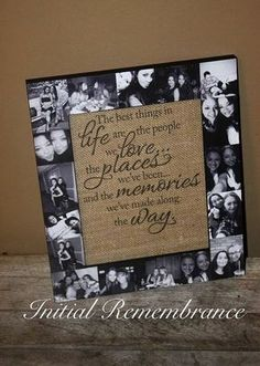 Order your Mothers Day frame today and get it in time for Mothers Day! Last day for Mothers Day orders is 5/10/17 Photo Collage Frame - Picture Frame Collage - Unique Frame Gift - Bridesmaid Frame Gift - Personalized Frame Gift - Customized Photo Frame - Maid of Honor Gift - Sister, Mother, Father, Aunt, Grandmother Gift - Wedding Gift - Anniversary Frame Gift - Relationship Goals - Long Distance - Going off to College - Photo Frame Collage - Wedding Anniversary - Best Friend Frame...