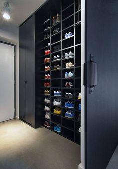 Huge Sneak Wall Walk In Closet For Guys