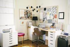 desk  Living With Kids: Kimberly Senn