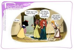Pocket Princesses Rainy Day (please don't repost, edit or upload to other sites. Share on FB from… Pocket Princesses Rainy Day (please don't repost, edit or upload to other sites. Share on FB from… Pocket Princesses, Pocket Princess Comics, Humour Disney, Disney Jokes, Funny Disney Memes, Disney Facts, Disney Princess Cartoons, Disney Cartoons, Funny Cartoons