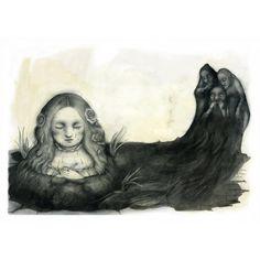 Ana Juan illustration for Lacrimosa