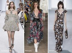 Spring/ Summer 2017 Print Trends: Floral Prints