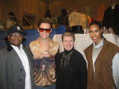 Law Roach, Patrick, Nena, Akila at Modern Vintage Chicago.