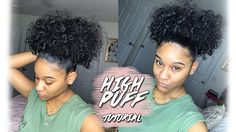 High Puff Tutorial - https://blackhairinformation.com/video-gallery/high-puff-tutorial/