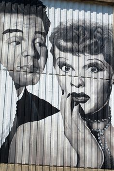Lucille Ball Wall Art in Jamestown, NY (Birthplace of Lucille Ball) Pittsburg Pa, Jamestown Ny, Desi Arnaz, Candy Art, Amazing Street Art, I Love Lucy, Lucille Ball, John Wayne, Street Artists