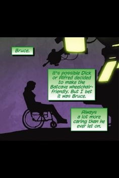 Batgirl, aka Barbara Gordon, was left in a wheelchair even though in the DC universe the technology existed to fix spinal cord injuries. In becoming Oracle, she becomes one of the most powerful players in Gotham and a valuable resource. So much so Batman relies on HER to provide him with information on the villain du jour.