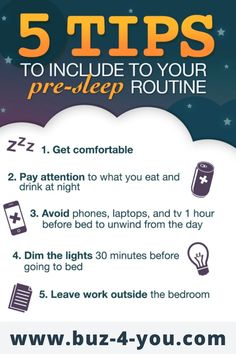 Tips To Include To Your Pre-sleep Routine . Sleep Relaxation, Simple Reminders, Dbt, Challenge Me, Sleep Apnea, What You Eat, Healthy Tips, Routine, Feelings
