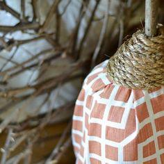 How to Make a Fabric Pumpkin From a Milk Jug