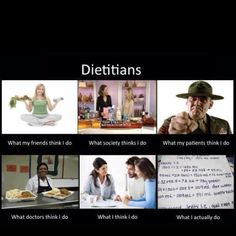 Dietitian- what's that?