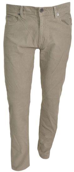 Calvin Klein Mens Corduroy Pants 40x30 Straight Leg Causal Jean Brown Beige New #CalvinKlein #Corduroys