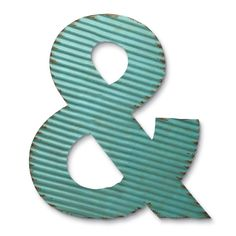 Foreside Home & Garden - Corrugated Ampersand