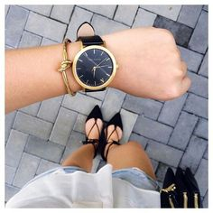 Chic street style | The Fifth Watches // Minimal meets classic design: www.thefifthwatches.com