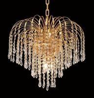 Waterfall Design Gold or Chrome Mini Chandelier with European or Swarovski Crystals SKU# 10500 Dining Chandelier, Crystal Chandelier Lighting, Foyer Lighting, Gold Chandelier, Chandeliers, Gold Ceiling Light, Ceiling Lights, Waterfall Design, Lowes Home Improvements