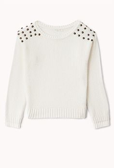 Rebel Studded Sweater (Kids) | FOREVER21 girls - 2058916367