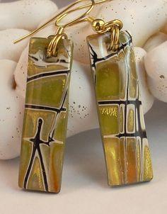 Crossroads Earrings by Sharon Solly