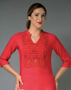 Ventas por catálogo - Comienza tu propio negocio con un producto único y sin competencias Tunic Tops, Lace, Dresses, Paris, Women, Fashion, Lace Tops, Embroidered Dresses, Hand Embroidery