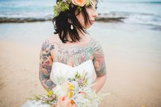 beach wedding maui
