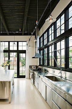 keuken rvs vintage design lovt loft