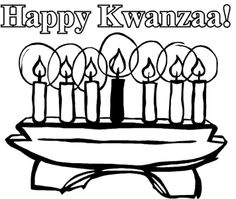 Happy Kwanzaa Always Coloring For Kids