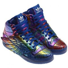 ADIDAS ORIGINALS BY JEREMY SCOTT JS WINGS SYNTHETIC SUPPLIER COULOR/REGAL PURPLE/BLACK #sneaker