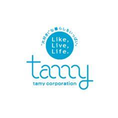 タミーコーポレーションのロゴ:何回ぐるぐる? | ロゴストック