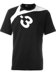 Y-3 Logo Print T-Shirt. #y-3 #cloth #t-shirt