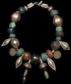 necklace of ancient and antique beads, marionhamilton.com