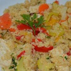 Kuskus z kurczakiem oraz warzywami
