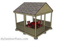 Wood Gazebo Plans