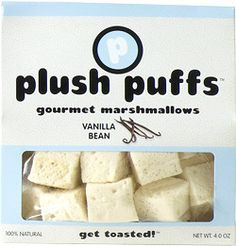 Gourmet marshmallows....yum!