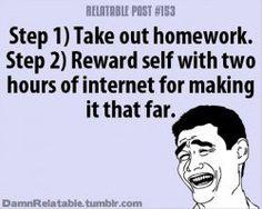 Homework I Hate School Quotes. QuotesGram
