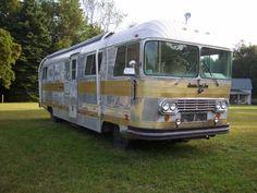 1966 Streamline vintage motorhome - Vintage Trailer Love - Fun vintage trailers, campers, RVs, & motorhomes for sale. New projects & restored beauties. Trailer travel adventures & more!