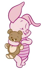 Disney Babies Clip Art | Baby Piglet may be shy but don't let that stop you from looking around ...