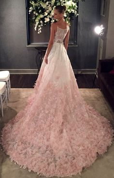 Prom Dresses,Prom Dress,Pink Evening Gown Ball Gown Tulle