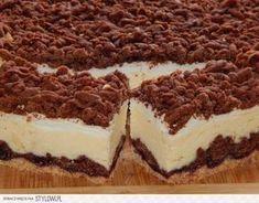Pleśniak z serem Składniki ciasta: 3 szk. mąki pszen… na Stylowi.pl Easy Blueberry Muffins, Cheesecake, Cake Bars, Polish Recipes, Pumpkin Spice Latte, Sugar Cookies, Baked Goods, Cake Recipes, Bakery