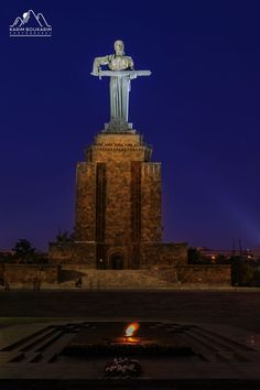 Travel Night Photography by Karim BouKarim: Few night shots taken in Yerevan and Gyumri, Armenia, as captured by the professional photographer. Armenia Travel, Yerevan Armenia, Hd Background Download, Hd Backgrounds, Night Photography, Empire State Building, Statue Of Liberty, City, Beautiful