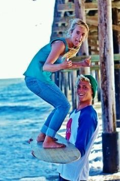 Brother and sister photo idea!