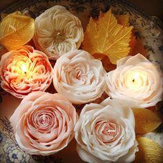 有瀧聡美さんのキャンドル。あまりにも美しい! Satomi Aritaki