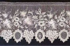 Alencon lace, Saint Therese of Alençon, tourism and history of Alencon Romanian Lace, Needle Lace, White Embroidery, B & B, Loom, Tatting, Needlework, Weaving, Couture