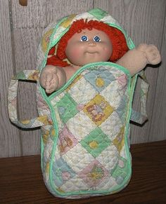 I had this carrier and this doll.