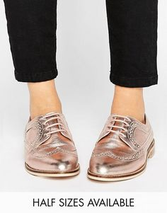 Discover Fashion Online Metallic Brogues 13a5b79608d15