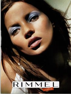 Rimmel London in Dazed, Issue 99 March 2003 90s Fashion, Fashion Models, Rimmel London, Halloween Face Makeup, Magazines, Campaign, Ads, Instagram, Journals