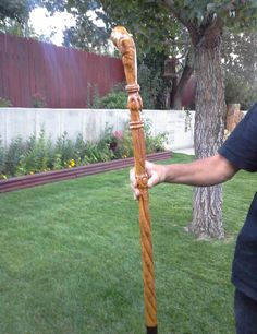 How tо Make а Wooden Walking Stick