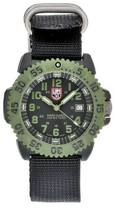 Luminox Men's 3041 Quartz Black Dial Carbon Reinforced Polycarbonate Watch Luminox. $210.00. Water-resistant to 200 M (660 feet); Case diameter: 45 mm; Quartz movement; Durable mineral crystal protects watch from scratches.; Casual watch. Save 40% Off!
