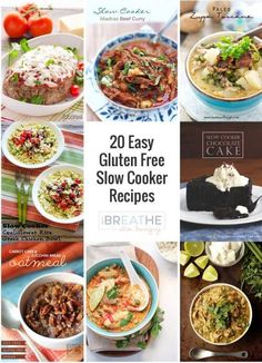 20 Easy Gluten Free Crockpot Recipes