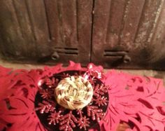 Sweet grass red snowflake/carolinasweetgrass@etsy.com/use coupon codehaym1955 save 10% - Edit Listing - Etsy
